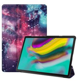Serise Samsung Galaxy Tab S5e hoes - Tri-Fold Book Case - Galaxy