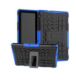 Serise Huawei Mediapad T5 10 - Schokbestendige Back Cover - Blauw