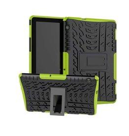 Serise Huawei Mediapad T5 10 - Schokbestendige Back Cover - Groen