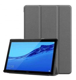 Serise Huawei MediaPad T5 10 - Tri-fold Book Case - Grijs