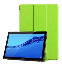Serise Huawei MediaPad T5 10 - Tri-fold Book Case - Groen