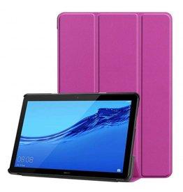 Serise Huawei MediaPad T5 10 - Tri-fold Book Case - Paars