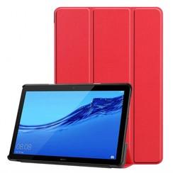 Huawei MediaPad T5 10 - Tri-fold Book Case - Rood