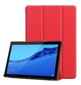 Serise Huawei MediaPad T5 10 - Tri-fold Book Case - Rood