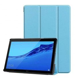 Serise Huawei MediaPad T5 10 - Tri-fold Book Case - Licht Blauw