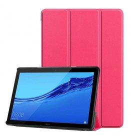 Serise Huawei MediaPad T5 10 - Tri-fold Book Case - Magenta