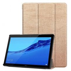 Huawei MediaPad T5 10 - Tri-fold Book Case - Rose-Gold