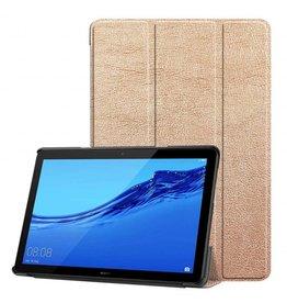 Serise Huawei MediaPad T5 10 - Tri-fold Book Case - Rose-Gold
