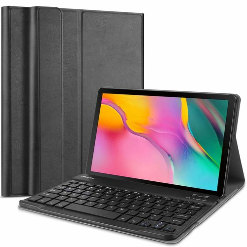 Cover2day Samsung Galaxy Tab A 2019 - Bluetooth toetsenbord hoes - Black