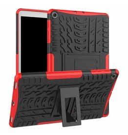 Serise Samsung Galaxy Tab A 10.1 2019 - Schokbestendige Back Cover - Red