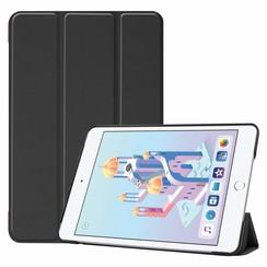 iPad Mini 2019 hoes - Tri-Fold Book Case - Zwart