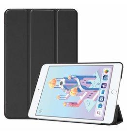 Serise iPad Mini 2019 hoes - Tri-Fold Book Case - Zwart