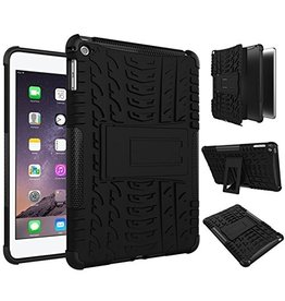 Serise iPad mini 5 hoes (2019) - Schokbestendige Back Cover - Zwart