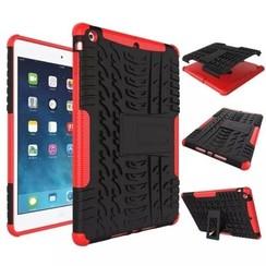 iPad Mini 5 hoes (2019) - Schokbestendige Back Cover - Rood