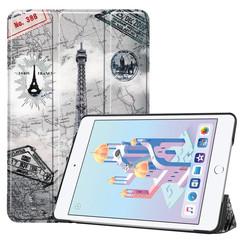 iPad Mini 2019 hoes - Tri-Fold Book Case - Eiffeltoren