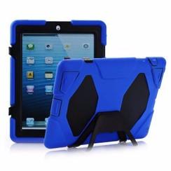 iPad 2,3,4 - Extreme Armor Case - Blauw