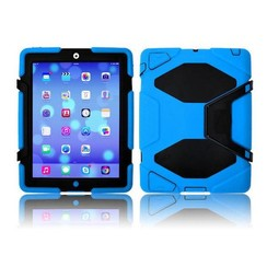 iPad 2,3,4 - Extreme Armor Case - Light Blue