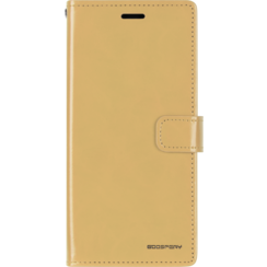 Samsung Galaxy A10 hoes - Blue Moon Diary Wallet Case - Goud