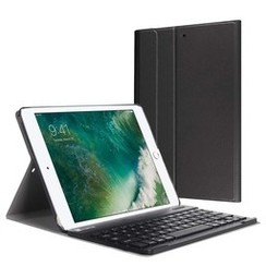 iPad 9.7 (2017/2018) - Bluetooth toetsenbord hoes - Black