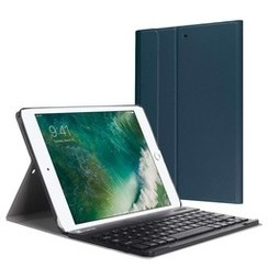 iPad 9.7 (2017/2018) - Bluetooth toetsenbord hoes - Blue