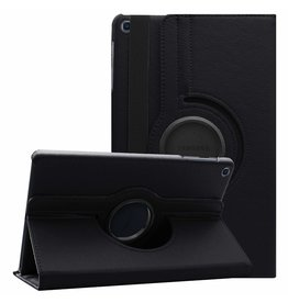 Case2go Samsung Galaxy Tab A 10.1 (2019) hoes - Draaibare Book Case  - Zwart