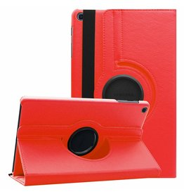 Case2go Samsung Galaxy Tab A 10.1 (2019) hoes - Draaibare Book Case  - Rood