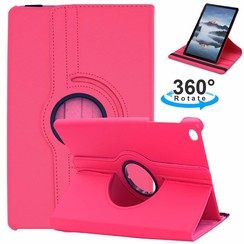 Samsung Galaxy Tab S5e hoes - Draaibare Book Case - Magenta
