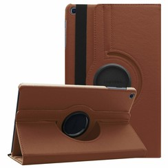 Samsung Galaxy Tab A 10.1 (2019) hoes - Draaibare Book Case - Bruin