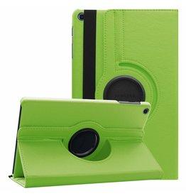 Serise Samsung Galaxy Tab A 10.1 (2019) hoes - Draaibare Book Case - Groen