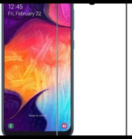 Case2go Samsung Galaxy A20e - Full Cover Screenprotector - Black