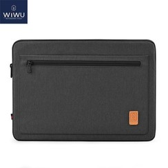 WIWU - 15,4 inch Pioneer Laptop & Macbook Sleeve - Zwart