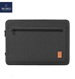 WIWU WIWU - 15,4 inch Pioneer Laptop & Macbook Sleeve - Zwart
