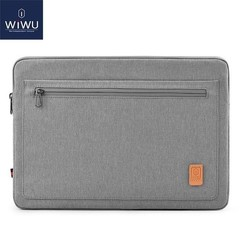 WIWU - 15,4 inch Pioneer Laptop & Macbook Sleeve - Grijs