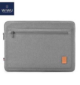 WIWU WIWU - 15,4 inch Pioneer Laptop & Macbook Sleeve - Grijs