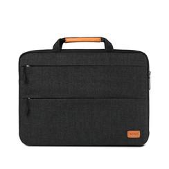 WIWU - 15,4 inch Smart Stand Laptop & Macbook Sleeve - Zwart