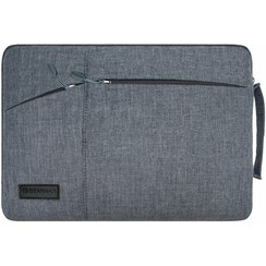 WIWU - 12  inch Pocket Laptop & Macbook Sleeve - Grijs
