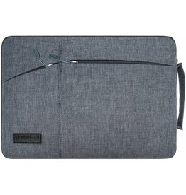 WIWU WIWU - 12  inch Pocket Laptop & Macbook Sleeve - Grijs
