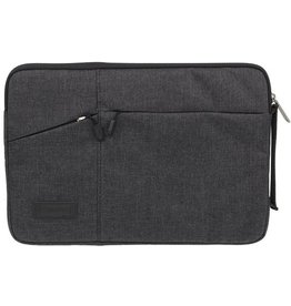 WIWU WIWU - 12  inch Pocket Laptop & Macbook Sleeve - Zwart