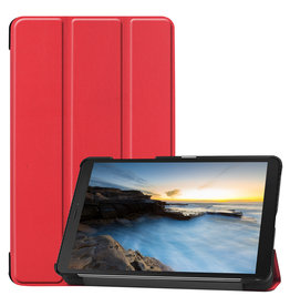 Cover2day Samsung Galaxy Tab A8 (2019) hoes - Tri-Fold Book Case - Rood