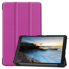 Samsung Galaxy Tab A8 (2019) hoes - Tri-Fold Book Case - Paars