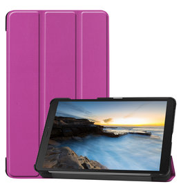 Cover2day Samsung Galaxy Tab A8 (2019) hoes - Tri-Fold Book Case - Paars