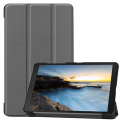 Samsung Galaxy Tab A8 (2019) hoes - Tri-Fold Book Case - Grijs