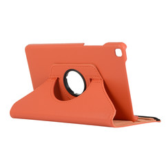Samsung Galaxy Tab A8 (2019) hoes - Draaibare Book Case - Oranje