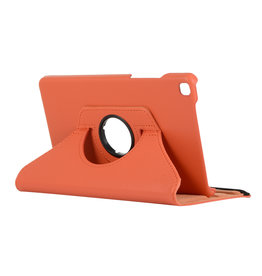 Cover2day Samsung Galaxy Tab A8 (2019) hoes - Draaibare Book Case - Oranje