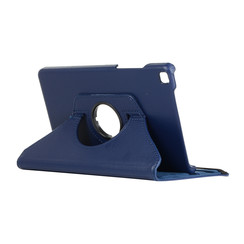 Samsung Galaxy Tab A8 (2019) hoes - Draaibare Book Case - Donker Blauw