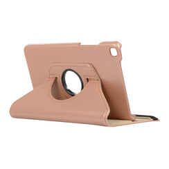 Samsung Galaxy Tab A8 (2019) hoes - Draaibare Book Case - Rosé Goud