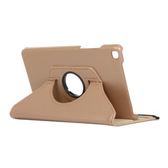 Samsung Galaxy Tab A8 (2019) hoes - Draaibare Book Case - Goud