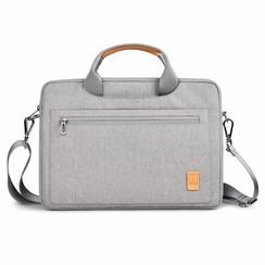 Laptoptas voor 14 inch laptop - WIWU Pioneer Shoulder - Grijs