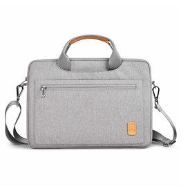 WIWU Laptoptas voor 14 inch laptop - WIWU Pioneer Shoulder - Grijs