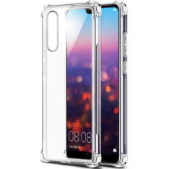 Huawei P30 hoes - Anti-Shock TPU Back Cover - Transparant